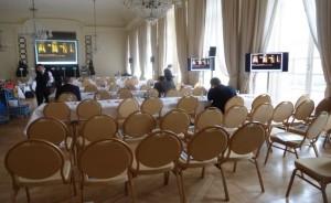 Parlamentarische Bestuhlung Kammermusiksaal