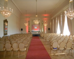 Reihenbestuhlung Kammermusiksaal